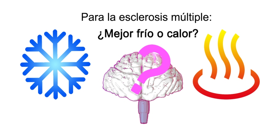Resultado de imagen de calor esclerosis multiple
